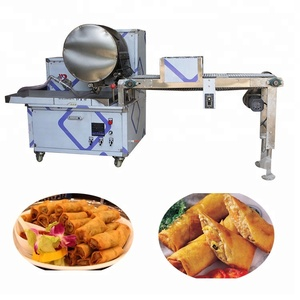 Spring roll maker mini spring roll making machine with factory supplier