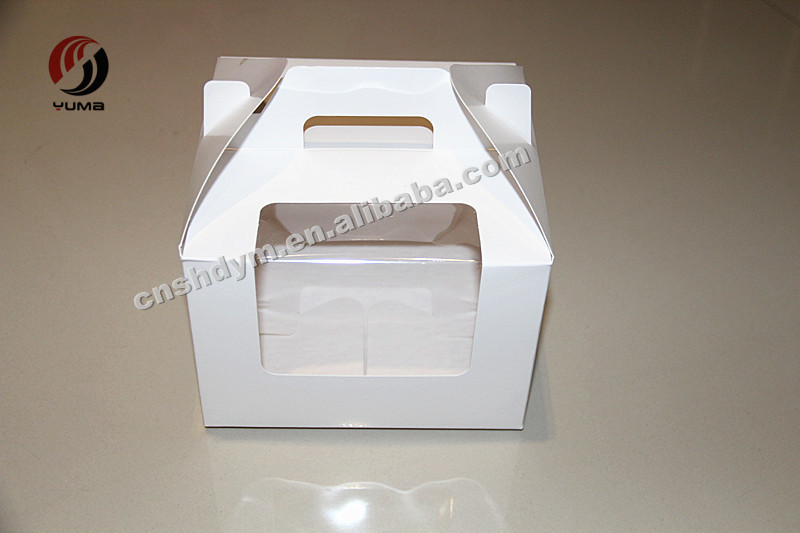 disposable recycled wedding cake take home favor boxes