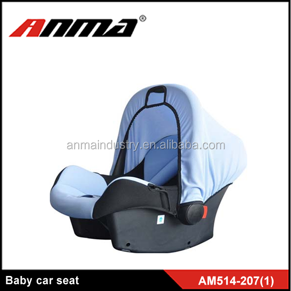 HDPE / Knitted fabric CE approved baby car seat / shield safety baby car seat