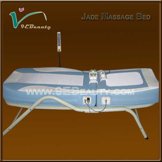 China supplier cheapest price automatic luxury jade rolling massage bed