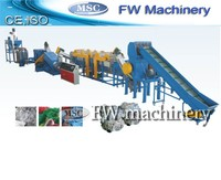 New condition high efficiency pp pe plastic agriculture film recycling and washing line