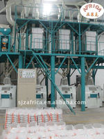 Professional design 50t/d corn maize flour mill , corn grit