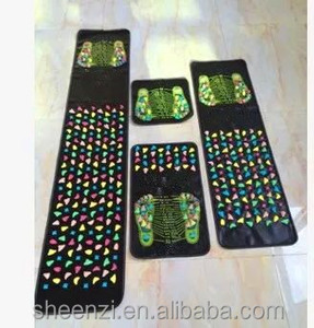 Pebble Massage Fitness Mat Self-Made Artificial stampede Acupuncture Foot Massage Mat