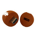 Best selling American football design flash memory usb 2.0 3.0 stick wholesale