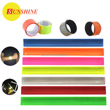 High Quality Slap band Printed slap bracelet EN13356 reflective slap wrap
