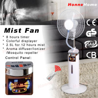Air condition pedestal fan summer cooling mist fan