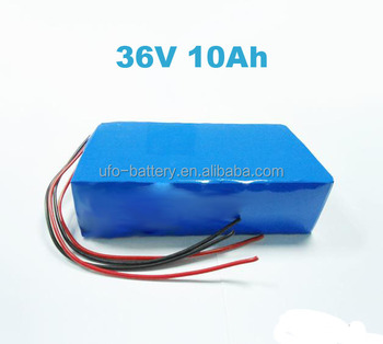 Electric Bike Battery Pack 36v 10ah lifepo4 battery pack Rechargeable Battery For Electronic Bike