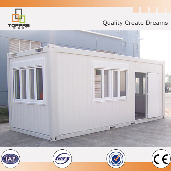 China 20 ft / 40ft house steel framing container cabins for office