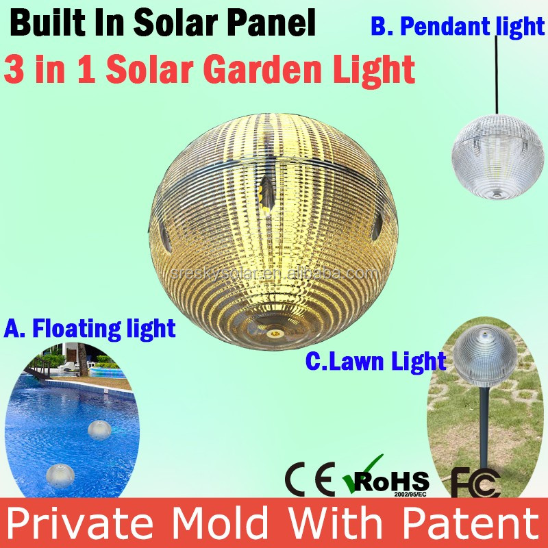 China Solar Lawn Light High Power Solar Garden Light Circuit