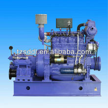 60Hz Price low Sudong 50kw diesel marine generator with clutch