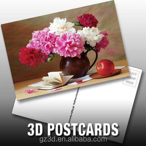 custom 3d lenticular postcard for thanksgiving