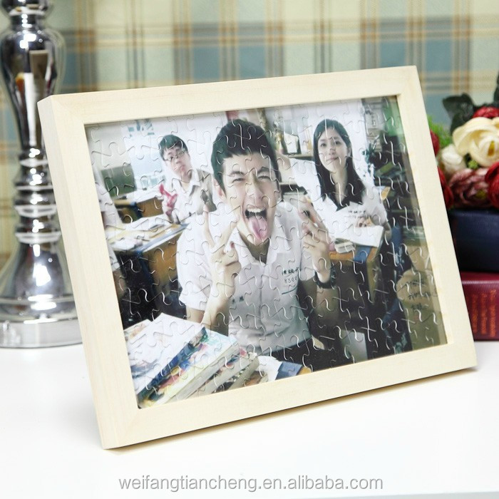 Wooden photo frame toy / Material sublimation picture frame wholesale online