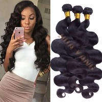 2016 Hot Sale Wholesale Body Wave Natural Brazilian Human Hair Extension