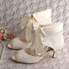 Open Toe Boots for Summer Wedding Boots