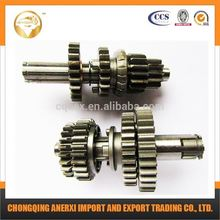 Main and counter shaft high quality CG125cc reverse gear box for motorcycle
