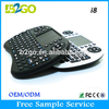 High quality i8 mini gaming wireless bluetooth keyboard china manufacturer