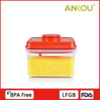 Customized Wholesale Top New Household Product Plastic Storage Powder Airtight Container