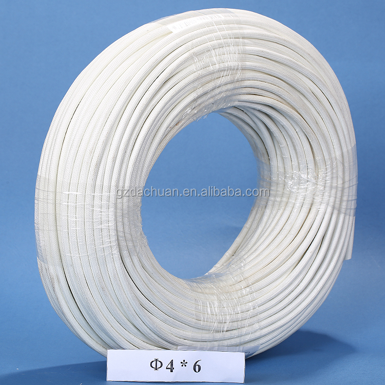 Silicone Rubber Fiberglass Sleeving For Terminal