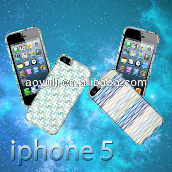 cuatomized replacement stylish cover case for iPhone5