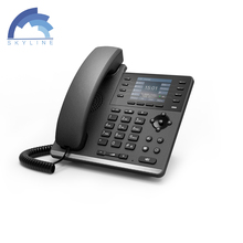 Voip 4 lines S4P IP phone with WIFI for free call support 4 sip account