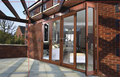 New design high quality cheap price elegant exterior folding door made in china