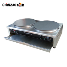 Commercial Double Electric Crepe Machine Pancake Maker CHZ-35-2