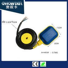 IP68 plastic electronical water float switch with OEM