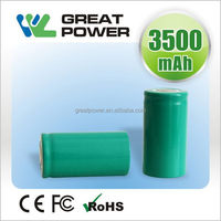 Design best sell rechargeable 1.2v 2300 mah battery
