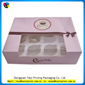 Wholesale packaging handmade cheap cupcake box for sale