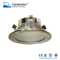 New products 2016 4 Inch MR16 Low Voltage Shower Baffle downlight Trim with Frosted Lens
