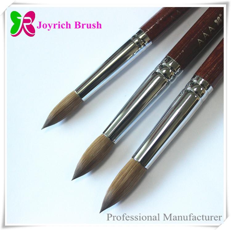 China Manufacturer Nail Supplies Brush Kolinsky 20