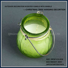 travel christmas tree hanging scented outdoor candles
