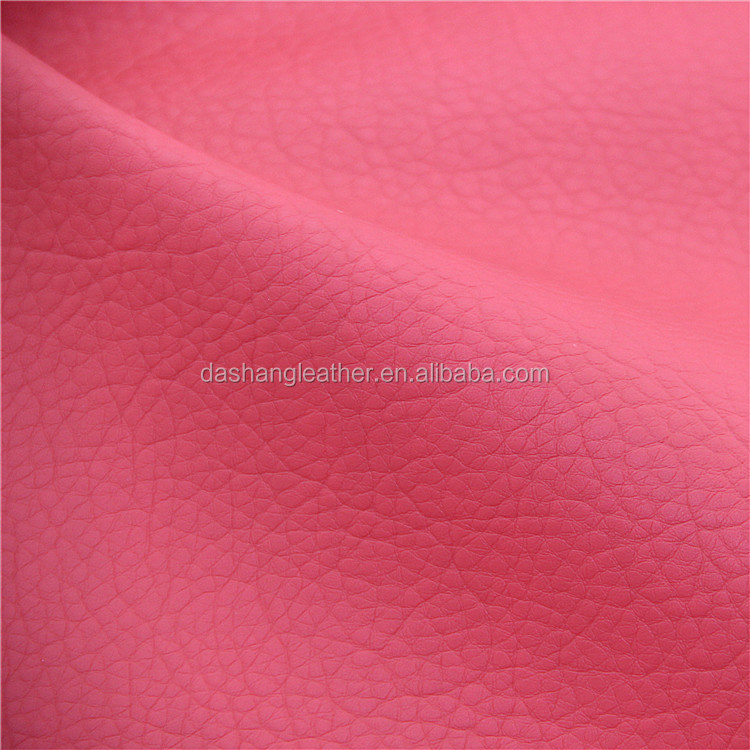 Lichee Pattern pvc Leather for Shoulders Bags (A973-1)