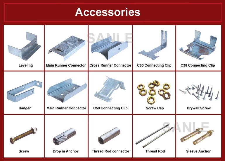 Plasterboard profiles profill c channel metal stud