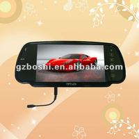 "7"" Bluetooth Rearview Mirror monitor with USB,SD"