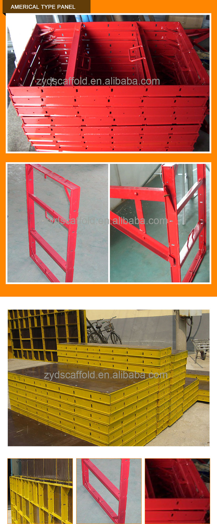 Hot Dip Mobile Construction Formwork Girder