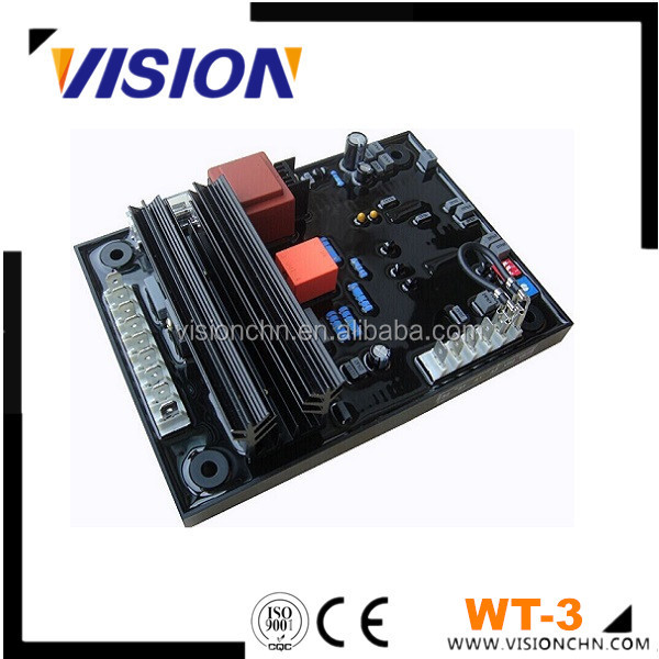 Generator Parts Automatic voltage regulator AVR WT-3 for Engga Series Genset