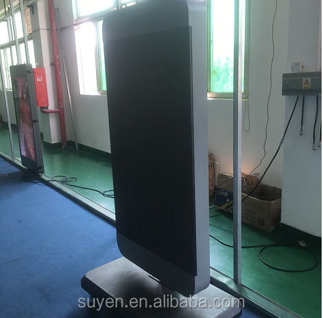 43 Inch High Resolution Full Colour Video Display Floor Standing LED Advertising Screen