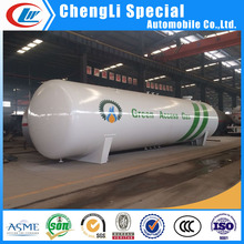 120 cubic meters Propane Gas Stationary Storage tank 50mt ASME low price Africa 120m3 lpg storage tank