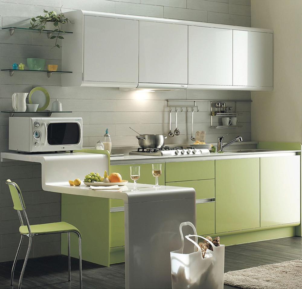 Wholesale cheap price china factory high gloss blue for Cheap gloss kitchen units