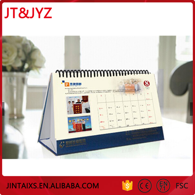 Customized Quick Delivery Color Notepad Kalender Flip Calendar
