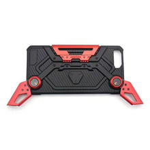 Electric plating kickstand gamepad cell phone case for iphone 7 7 plus 8 8 plus back cover