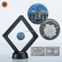 WR Palace of Fine Arts 999.9 Silver Coins Mexico Commemorative Home Decor Art Metal Crafts for Festival Gifts