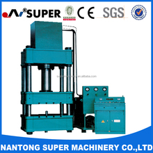 1250 Tons Four Column Hydraulic Press Working For Windows And Doors