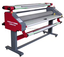 Audley CE pneumatic 63 inch pur hot melt laminating machine with rubber roller