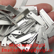 Custom Two Holes Connector Galvanized Stamping Sheet,OEM Sheet Metal Stamping Products Service