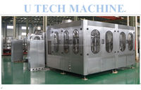 Bottled water manufacturing equipment for washing and filling and capping