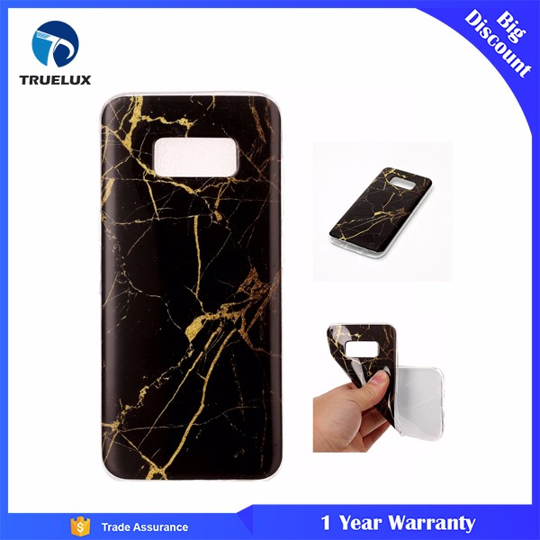 New Arrival Granite Scrub Marble Stone Painted TPU Phone Case For Samsung Galaxy S8