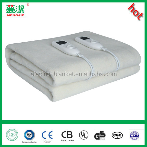 Double Controller Electric Blanket