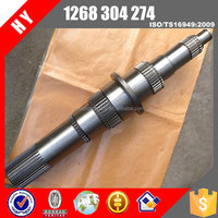 ZF Transmission main shaft 1268304274 zhongtong bus
